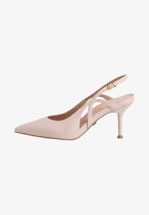 Classic heels - nude leather