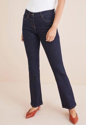 Bootcut jeans - mottled royal blue