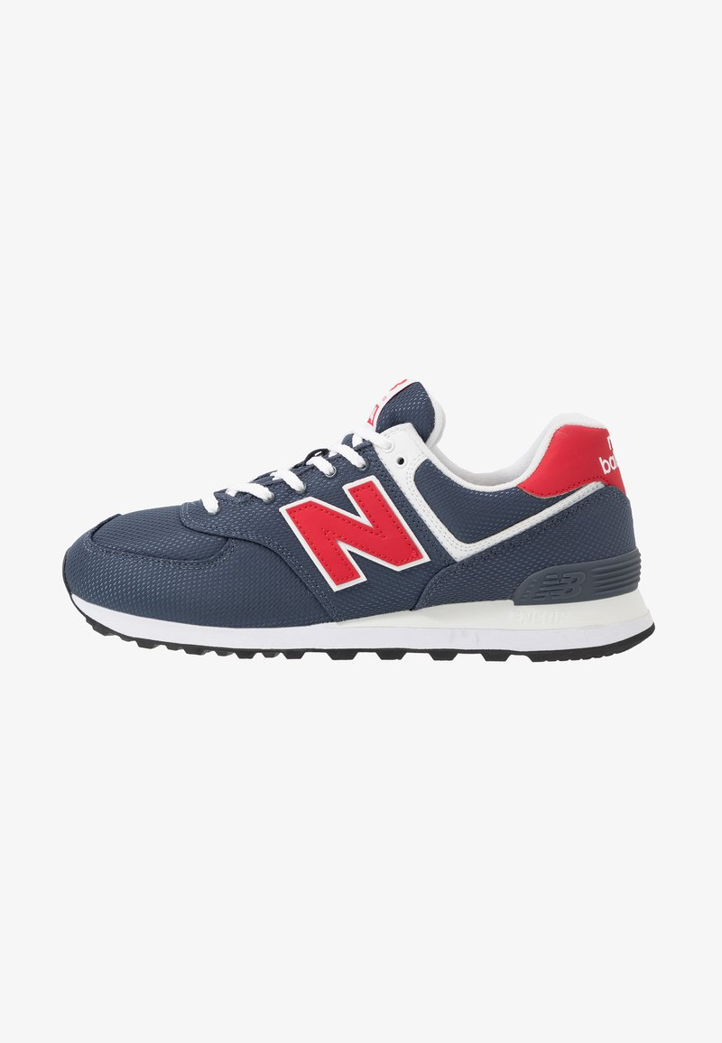 New Balance - Sneakersy niskie - grey/red
