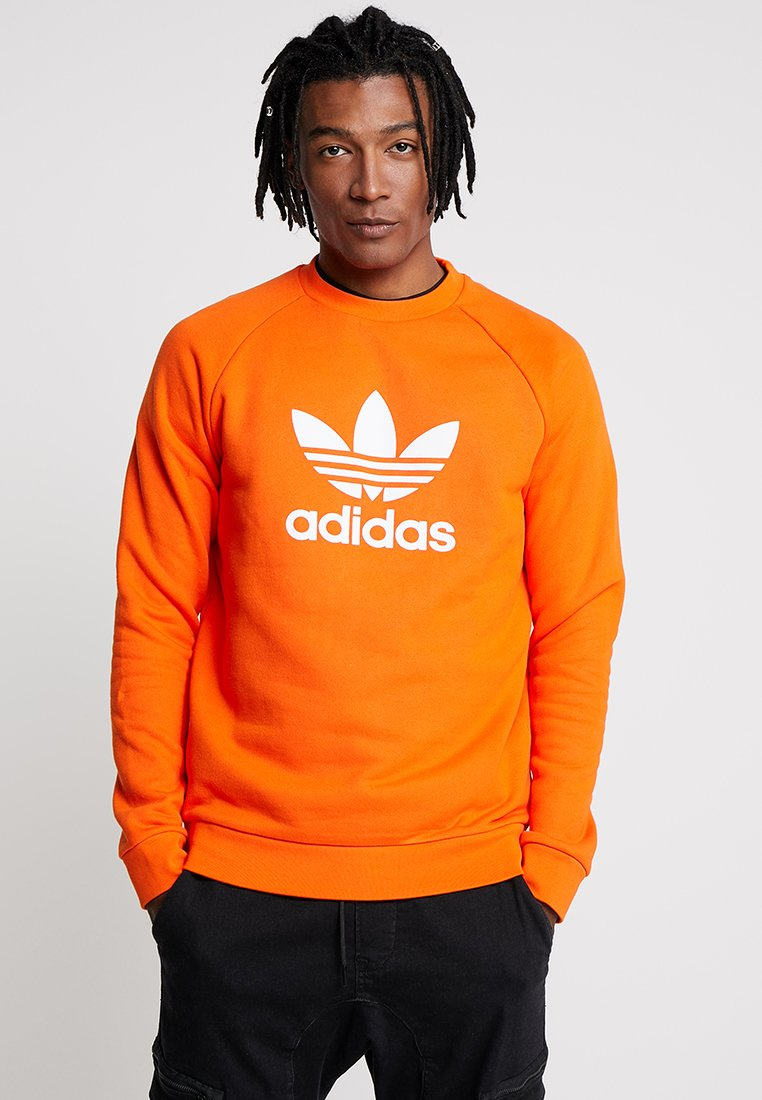 adidas Originals - TREFOIL CREW UNISEX - Sweatshirt - orange