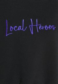 Local Heroes - COLLAR RAGLAN - Sweatshirt - black - 2