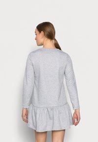New Look Petite - DROP HEM DRESS - Day dress - grey niu - 2