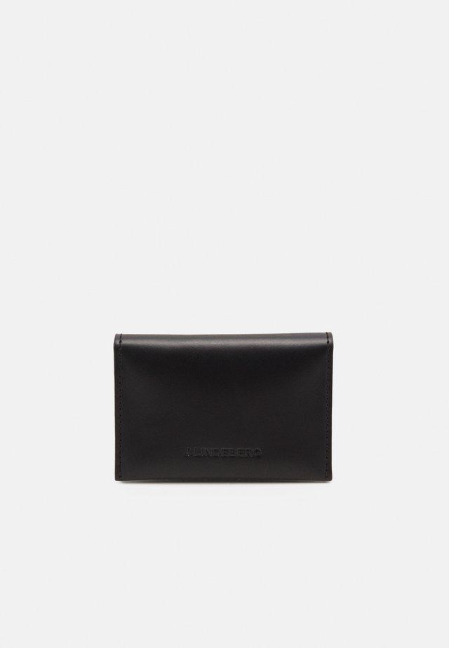 FOLD CARD HOLDER - Geldbörse - black