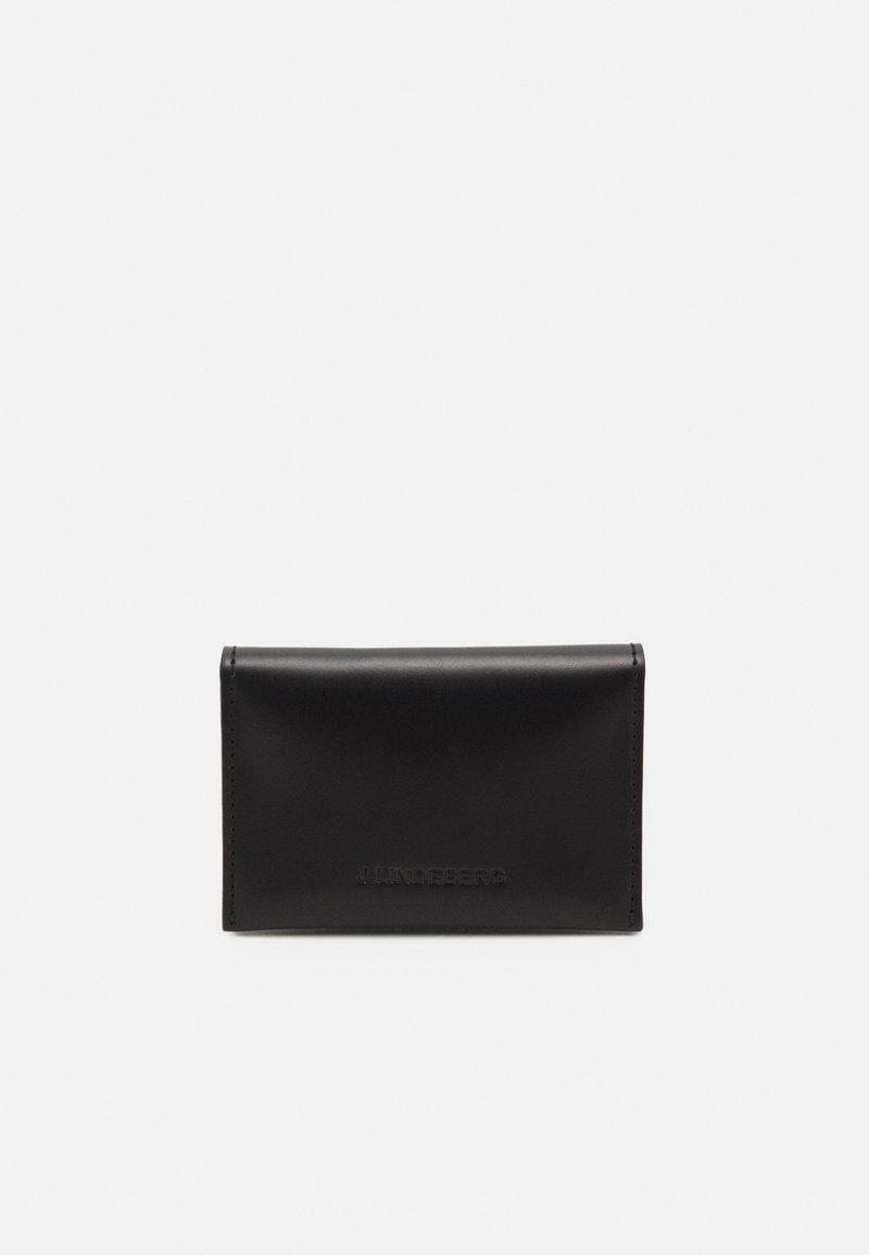 J.LINDEBERG - FOLD CARD HOLDER - Wallet - black