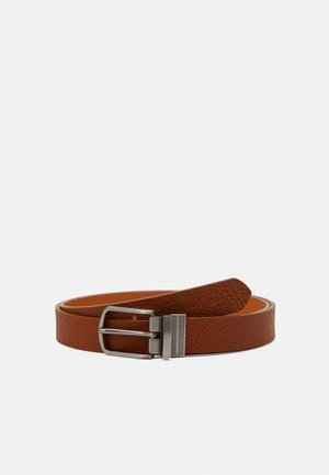 LEATHER  - Cintura - cognac