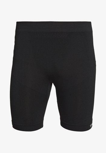 MARTIN SEAMLESS CYCLING SHORTS - Punčochy - black