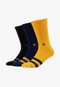 Stance - 3 PACK - Calcetines - black/yellow/dark blue - 1