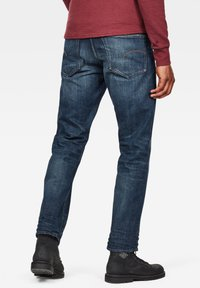 G-Star - 3301 STRAIGHT - Jeans a sigaretta - dk aged - 1