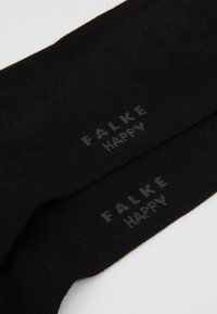 Falke - Happy 2-Pack Sneakersocks - Skarpety - black - 2