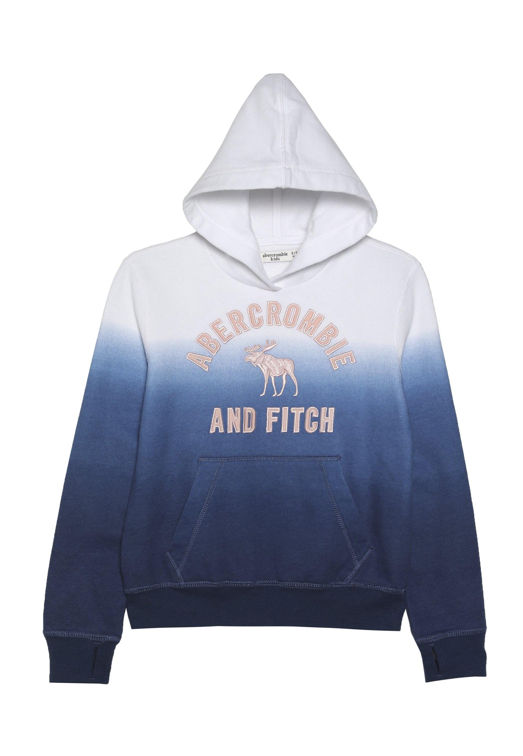 Abercrombie & Fitch CORE Hettejakke grey dip dye