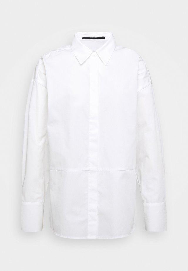 ZAIDA - Button-down blouse - white