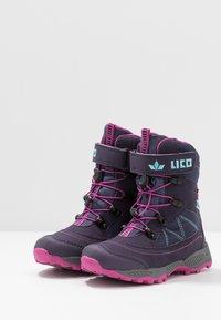 LICO - SUNDSVALL  - Zimní obuv - lila/pink/türkis - 3