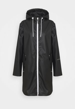 TECHNICAL RAINCOAT - Waterproof jacket - black
