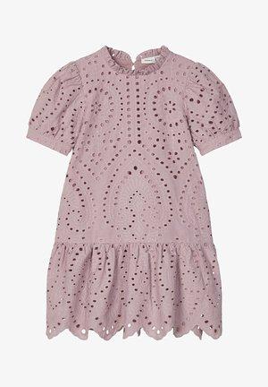 LOCHSTICKEREI - Day dress - deauville mauve
