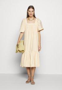 Stella Nova - BERA - Day dress - yellow/white - 1