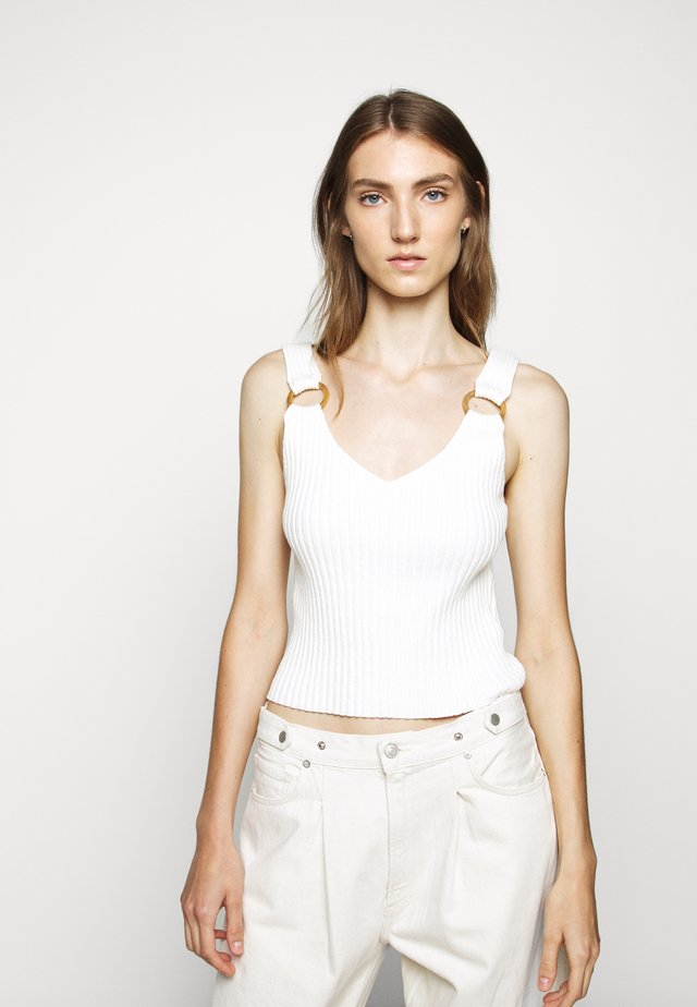 RING TANK - Toppi - cream