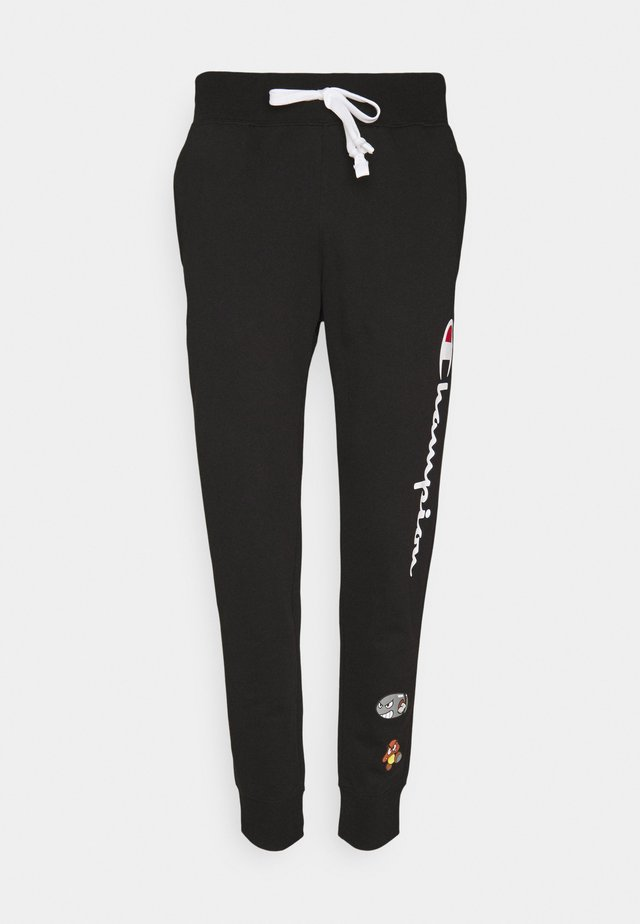 CUFF PANTS X NINTENDO - Tracksuit bottoms - black