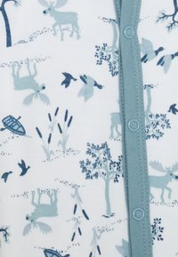 Joha - JUMPSUIT UNISEX - Pyjamas - light blue/offwhite - 2