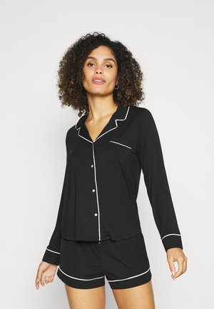 PIPING - Pyjamapaita - true black