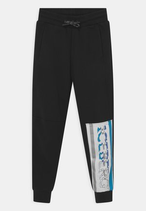 SLIM - Tracksuit bottoms - nero