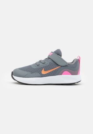 WEARALLDAY UNISEX - Trainers - smoke grey/metallic copper/pink glow
