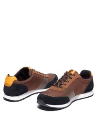 Timberland - LUFKIN  - Trainers - md brown mesh wblk - 2
