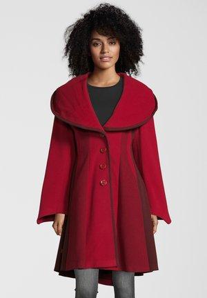 Classic coat - red mix