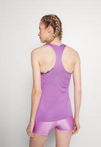 Nike Performance - DRY BALANCE - Tekninen urheilupaita - violet shock/white - 2