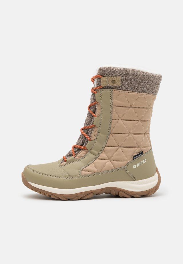 AURORA WP - Winter boots - sand/beige