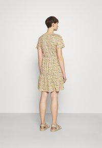 Vila - VINATALIE SHORT DRESS - Jersey dress - dark olive - 2