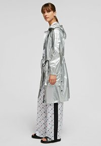 KARL LAGERFELD - Waterproof jacket - silver - 3