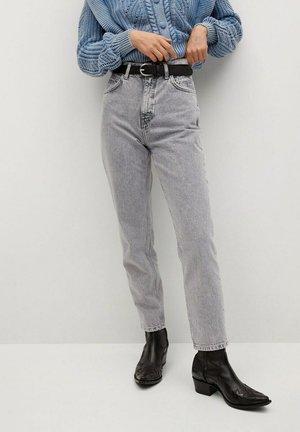 Relaxed fit jeans - grijs denim