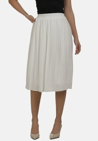 DreiMaster - Áčková sukně - wollweiss - 0