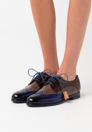 SELINA - Lace-ups - midnight/stone/mid brown