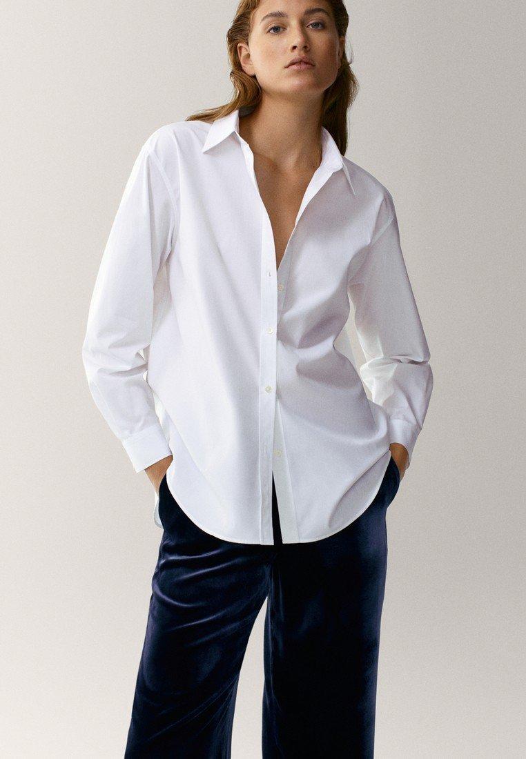 Massimo Dutti - Overhemdblouse - white