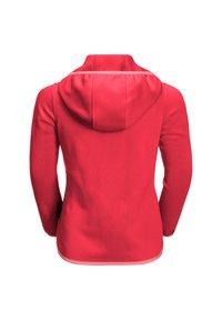 Jack Wolfskin - KIEWA  - Fleece jacket - tulip red - 1
