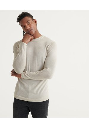 MERINO - Jumper - cloud grey marl