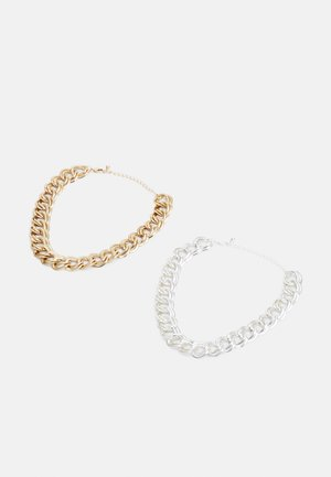 JENNA NECKLACE 2 PACK - Náhrdelník - silver-coloured/gold-coloured