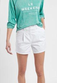 Next - BERRY - Shorts - white - 1