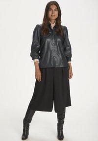 Part Two - FREYJAPW - Button-down blouse - black - 1