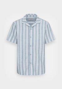Cotton On - TEXTURED SHORT SLEEVE SHIRT - Skjorta - blue - 3