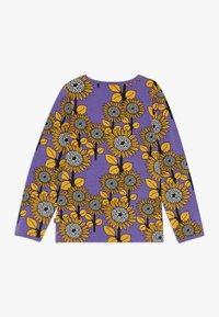 Småfolk - SUN FLOWERS - Langærmede T-shirts - purple heart - 1