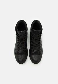 Steve Madden - SPARKLER - Sneakersy wysokie - black - 3