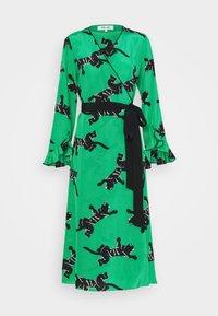 Diane von Furstenberg - SERENA DRESS - Vapaa-ajan mekko - green - 5