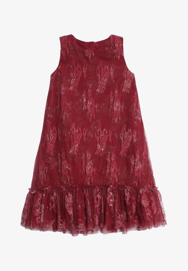 Day dress - dark berry