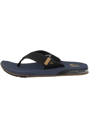 FANNING LOW - T-bar sandals - navy
