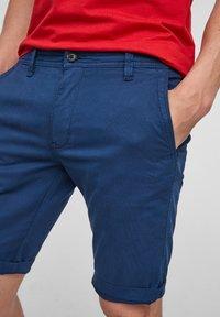 s.Oliver - Shorts - blue - 3