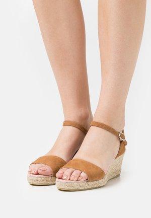 ANGELIS  - Platform sandals - sadel