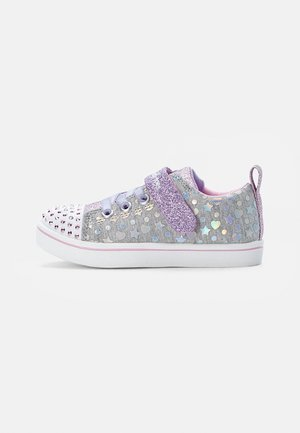 SPARKLE  - Sneakers basse - gry textile/silver & lav trim