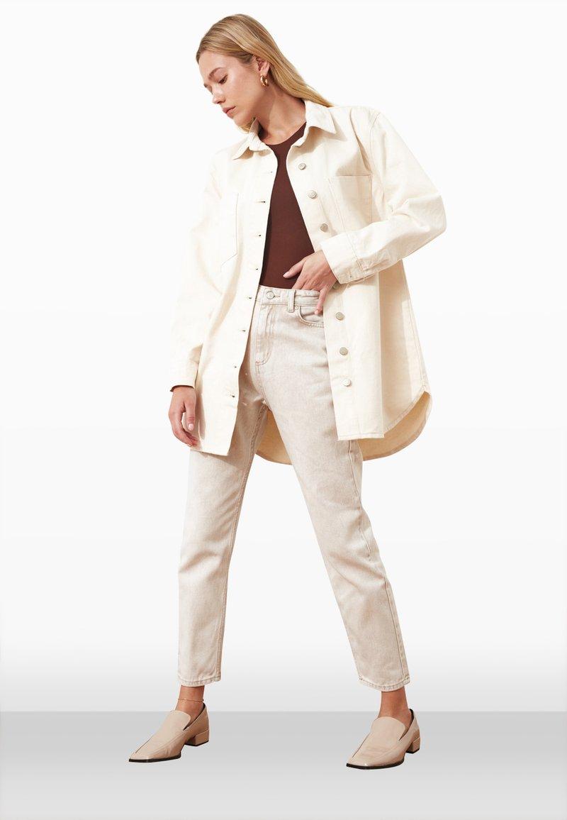 Trendyol - Summer jacket - cream